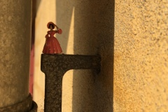 Figur på mur, Helsingør